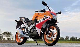 Używany motocykl 125 cm3 za dwie pensje. Nie musi być nudno