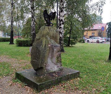 Śląsk. W Żywcu zdewastowano pomnik poświęcony żołnierzom Narodowych Sił Zbrojnych