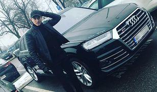 Robert Lewandowski przy Audi SQ7