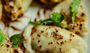 Pierogi z kurczakiem i warzywami