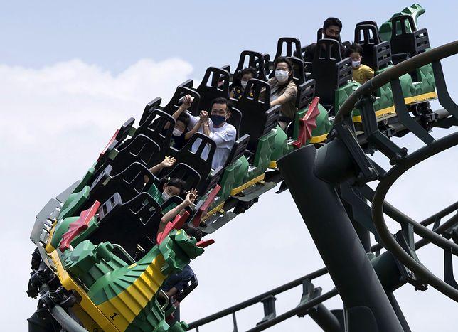 Zakaz krzyków na rollercoasterach. Nowa zasada w japońskich parkach rozrywki