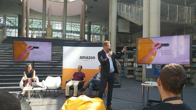 Konferencja, przedstawienie produktów i... Amazon Echo - pierwsza demonstracja w Europie