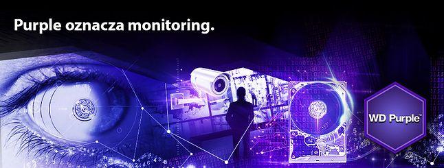 WD Purple - seria dysków do monitoringu