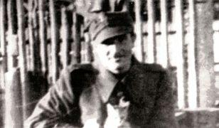 """Tadeusz Ośko (vel Wojciech Kossowski) """"Sęp"""", Szczebrzeszyn, wiosna 1944 r."""