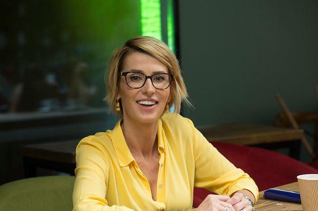Tatiana Mindewicz-Puacz z przystojniakiem na ściance. Pokazała ukochanego