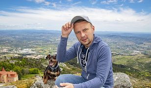Idzie pieszo przez Europę. Darek zbiera pieniądze dla hospicjum na Ursynowie (fot. Darek Strojewski – Facebook)