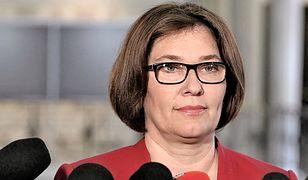 Beata Mazurek podkreśla, że posłowie PiS rozumieją decyzję ws. wynagrodzeń