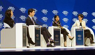 Jedna z debat podczas Światowego Forum Ekonomicznego.