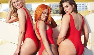 """""""Baywatch"""" - nowa kolekcja kostiumów kąpielowych Ashley Graham"""