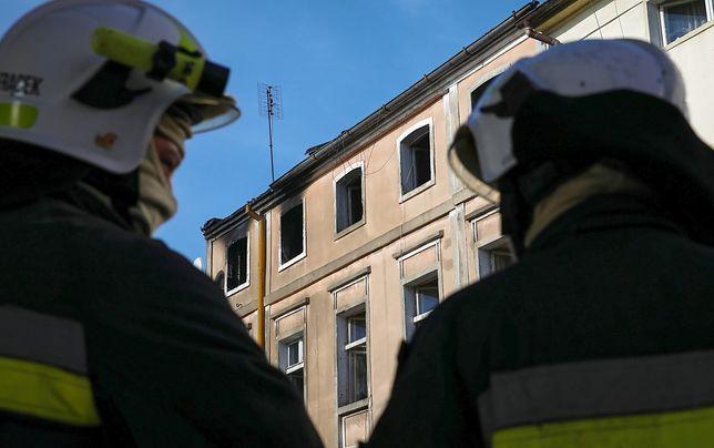 Tęgoborze (woj. małopolskie). Walentynkowa interwencja strażaków