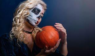 Makijaż na Halloween w stylu czaszki
