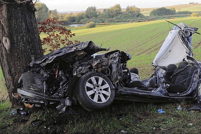 Gołębiewko. Zabity i 3 rannych w wypadku pod Gdańskiem