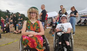 Pol'And'Rock 2019. Festiwal z perspektywy wózka inwalidzkiego