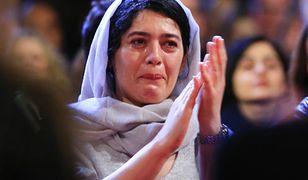 Aktorka âSheytan Vojud Nadaradâ, która zagrała w filmie, nie kryła wzruszenia na gali