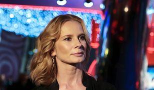 "Magdalena Cielecka na premierze filmu ""Ciemno, prawie noc"""