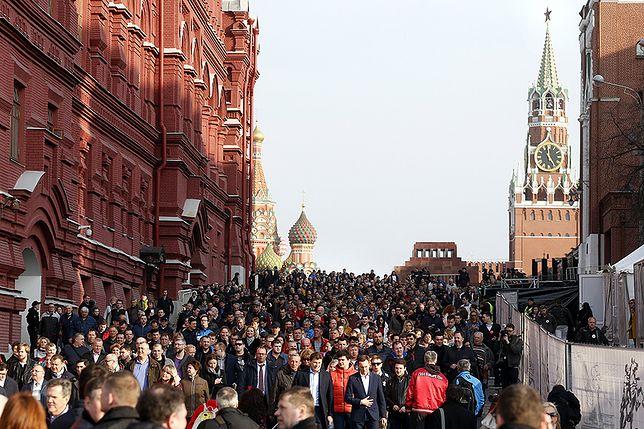 Planowali samobójczy zamach w Moskwie. Zatrzymano cztery osoby