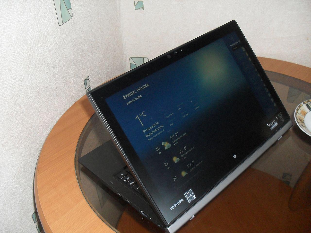 Toshiba Portégé Z20T — pierwszy posmak sprzętu