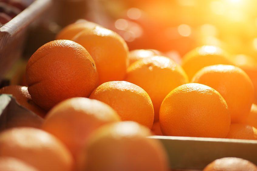 Pomarańcze - 50 mg witaminy C w 100 g produktu