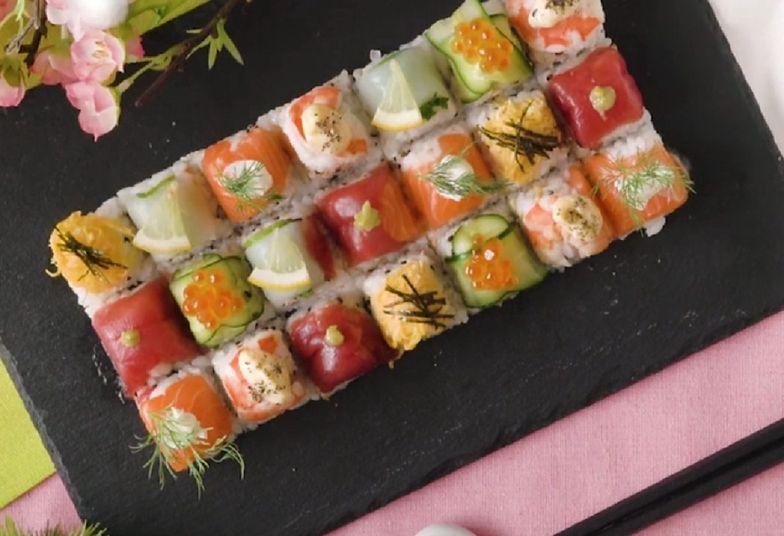 Przepis na ekspresowe sushi. Zrobisz je w mig i nie wydasz fortuny