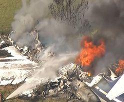 Katastrofa samolotu pasażerskiego w USA. Wiadomo, co z pasażerami