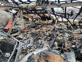 Bartek Żybul ma 3 miesiące. W pożarze stracił dach nad głową i pamiątki rodzinne. Trwa zbiórka na jego dom