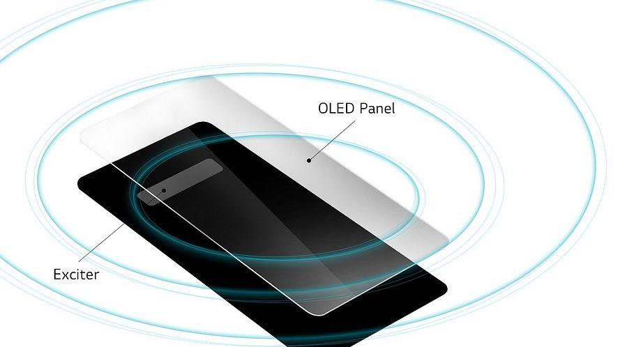 Innowacja od LG: Głośnik LG G8 ThinQ w wyświetlaczu OLED