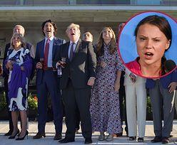 Wymowne zdjęcie z G7. Greta Thunberg nie zostawia suchej nitki na politykach