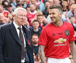 David Beckham i sir Alex Ferguson pogodzili się. Wspólnie obejrzeli mecz Euro 2020