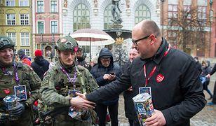 Podczas ostatniego finału WOŚP prezydent Adamowicz zebrał ponad 5 tys. zł. Internauci dorzucili jeszcze 15,9 mln zł