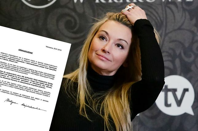 Martyna Wojciechowska nie jest pierwszą znaną osobą, która skarży się na praktyki producenta suplementu