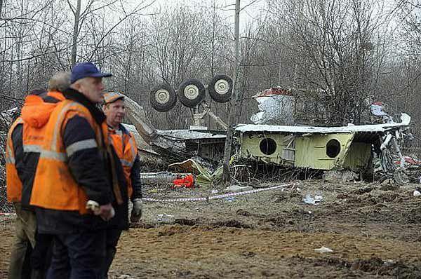 Miejsce katastrofy Tu-154