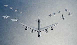 Bombowce B-52 z USA nad Bałtykiem. Rosja reaguje