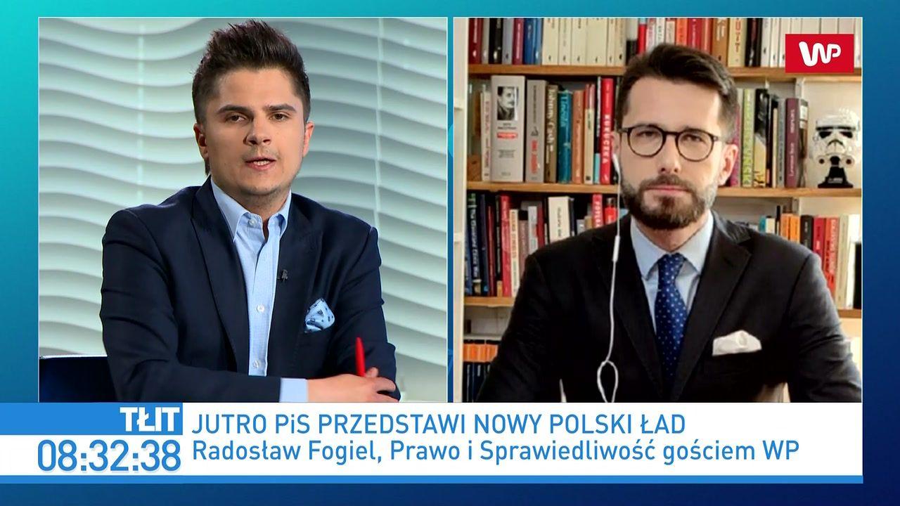 Jarosław Kaczyński i Mateusz Morawiecki zaprezentują Nowy Ład. Radosław Fogiel ujawnia