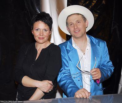 Małgorzata Pieńkowska i Robert Moskwa