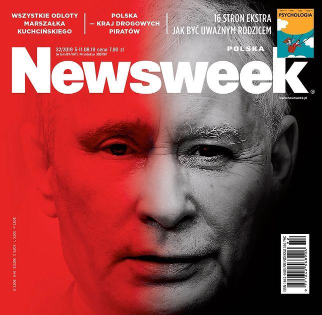 """Okładki tygodników. """"Do Rzeczy"""" o atakach na Kościół, """"Newsweek"""" o Kaczyńskim"""