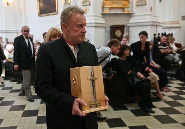 Pożegnanie Andrzeja Łapickiego - zobacz zdjęcia
