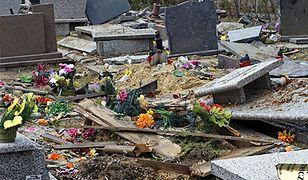 Wybuch gazu zniszczył cmentarz w Gliwicach