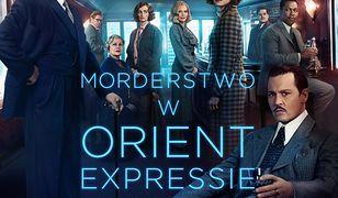 """Ostateczny plakat filmu """"Morderstwo w Orient Expressie"""""""