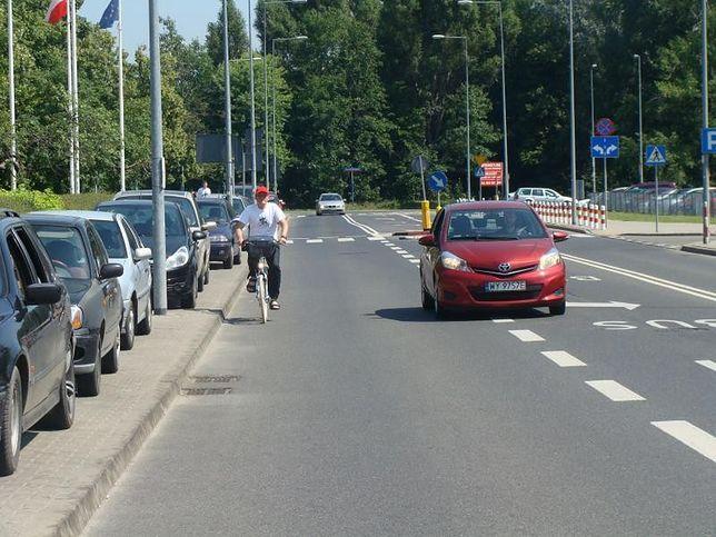 Rowerzysta i kierowca – różni użytkownicy, wspólna droga