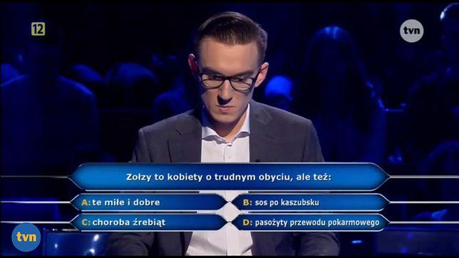 Adam musiał odpowiedzieć na intrygujące pytanie