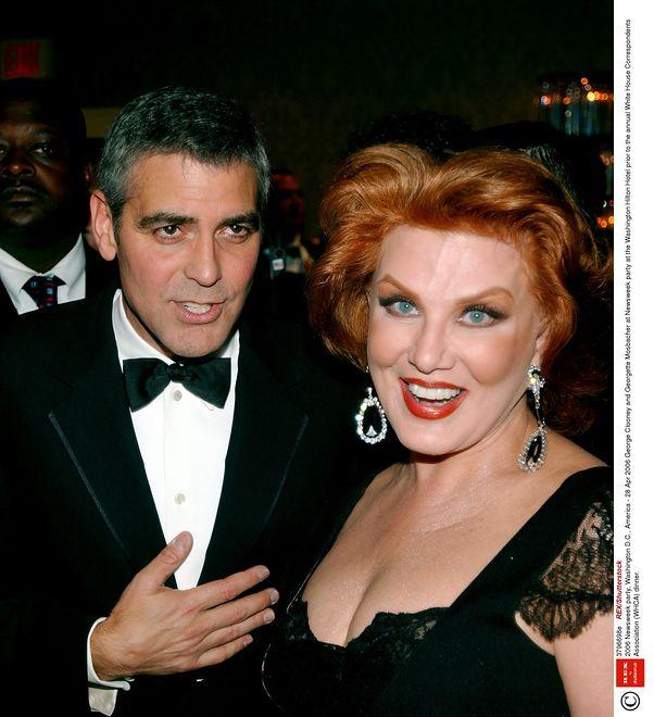Georgette Mosbacher bywała na bankietach z Georgem Clooneyem. Teraz będzie dbać o amerykańskie sprawy w Polsce