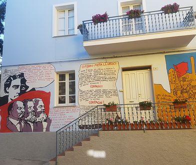 Orgosolo na Sardynii. Kiedyś miasto bandytów, dziś - cudnych murali.
