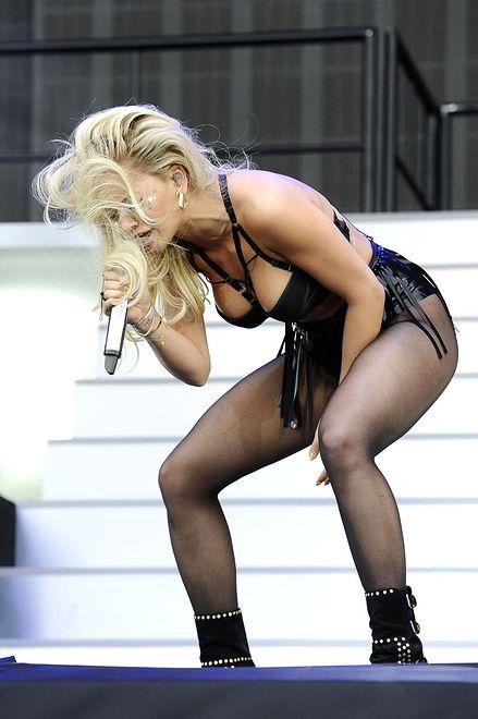 Rita Ora zatraciła się na scenie