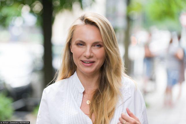 """Sylwia Gliwa wciela się w postać Moniki w serialu """"Na Wspólnej""""."""