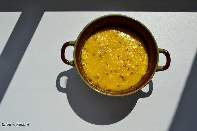 Hauskyjza, czyli ser domowy smażony z kminkiem, z czosnkiem, bez przypraw