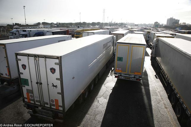 Polscy kierowcy skazani za przemyt imigranta w trumnie