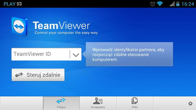 TeamViewer dla Androida