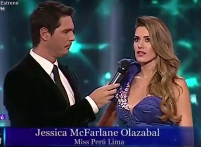 Kandydatki na miss Peru wykorzystały czas antenowy, by zwrócić uwagę na ważny problem.