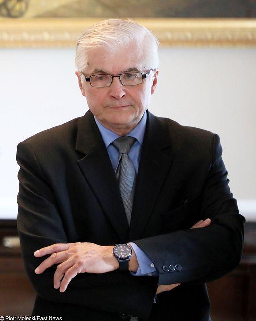 """Włodzimierz Cimoszewicz choruje na """"męski"""" nowotwór"""