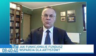 Pieniądze dla artystów. Jarosław Sellin odpowiada na list Pawła Kukiza